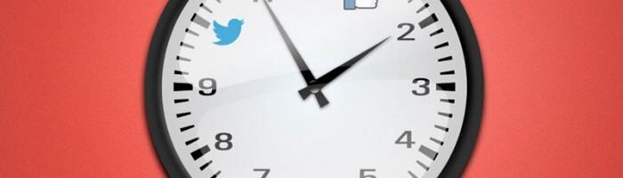Melhores horários - Social